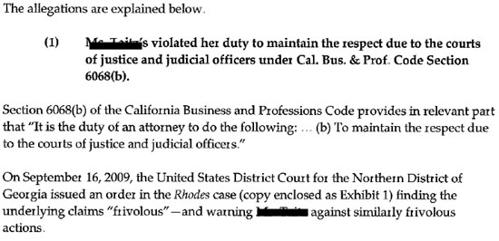 Napa court state bar of california attorney complaint letter examples more samples spiritdancerdesigns Images
